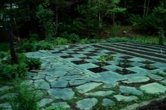 dallage ardoise-potager-jardin