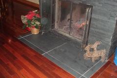 foyer protection en ardoise