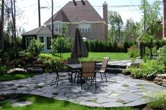 mosaique patio
